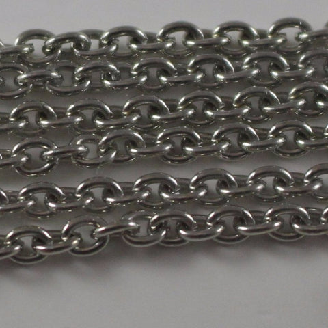 Antique Silver Plated Chain  B4T-ASP446