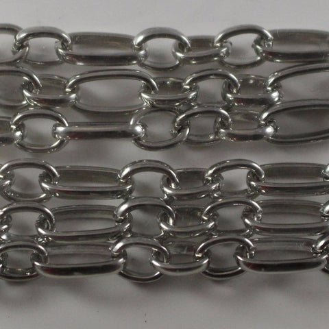 Antique Silver Plated Chain  B4T-ASP464