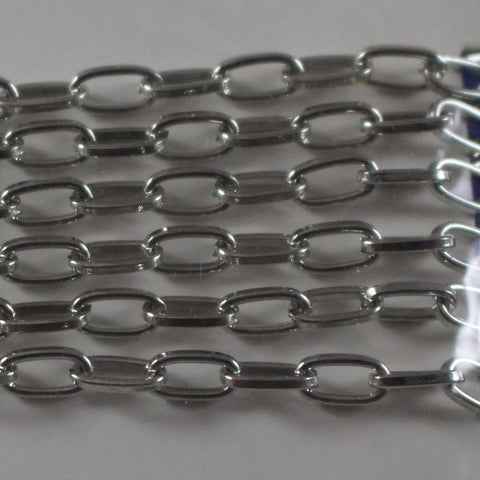 Chain, Gunmetal Cable Chain. Sku B4T-GM453 - Azillion Beads