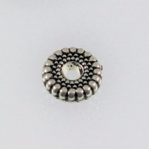 Spacer, Resin 12mm Wheel Bead, USA. - Azillion Beads