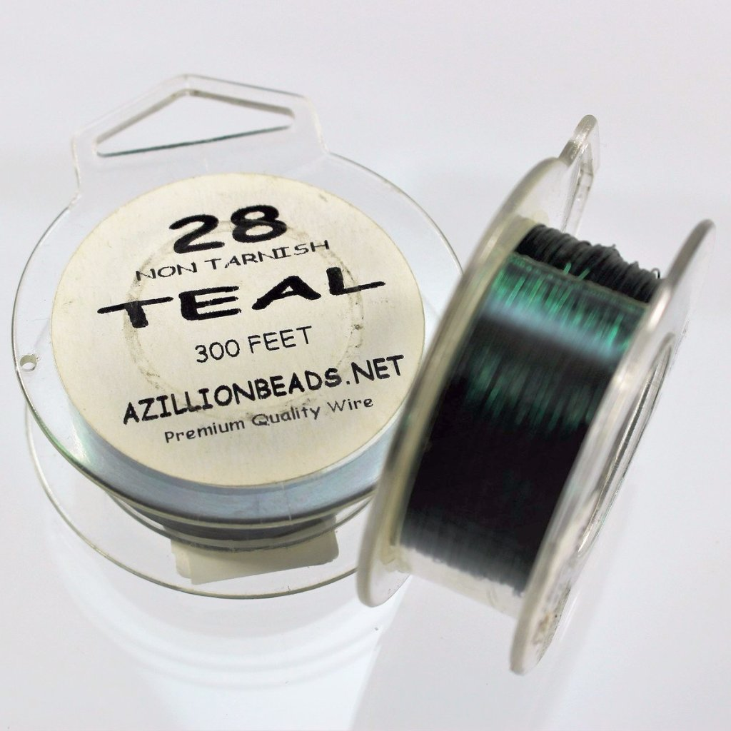 28g Copper Wire, Teal, 300ft  R7S5C-28TEA