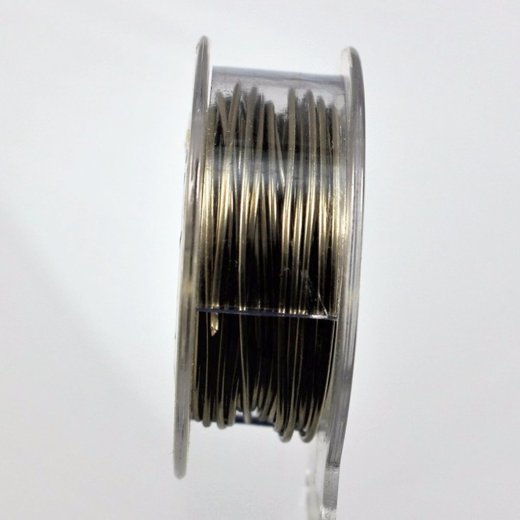 20g Stainless Steel Wire, Natural color, 75ft - Azillion Beads