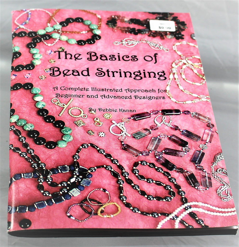 Book: The Basics of Bead Stringing  R6S1B-BBS - Azillion Beads