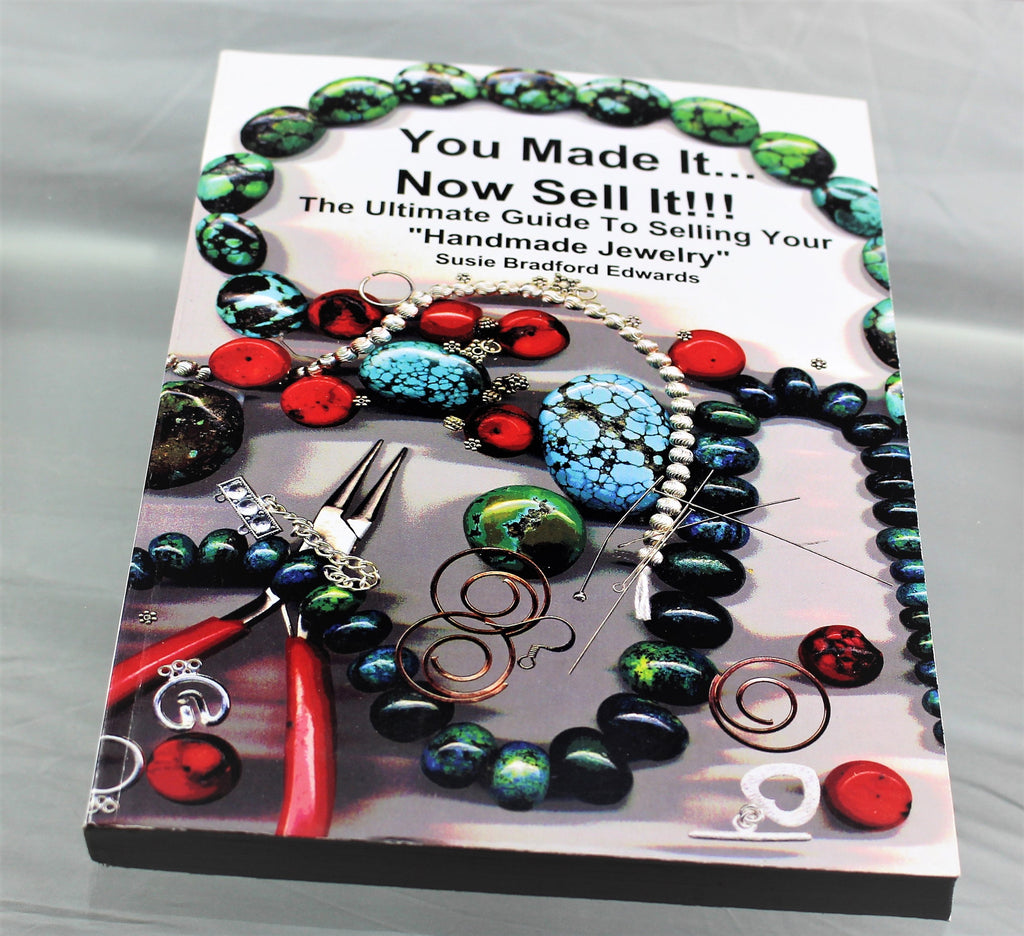 Book: You Made It...Now Sell It!!   R6S1B-YMNS - Azillion Beads