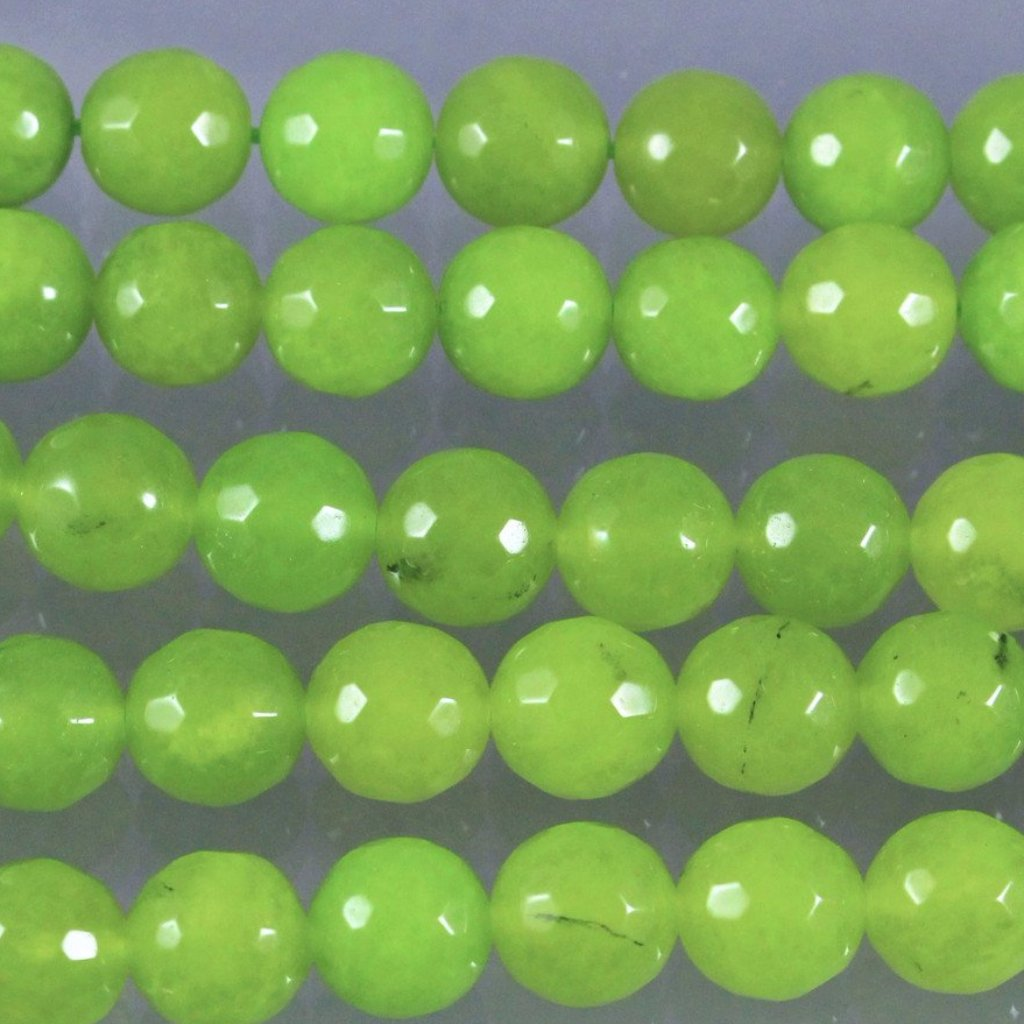 Agate, Dyed, Faceted 12mm Round Beads Sku W10068 CLOSEOUTS! - Azillion Beads