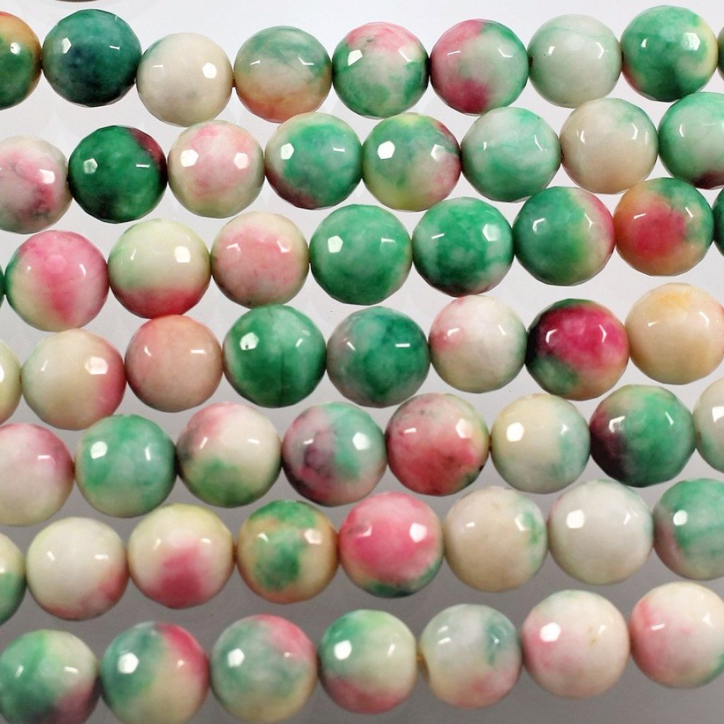 Jade Beads, Dyed, 10mm. Sku W10921CLOSEOUT - Azillion Beads