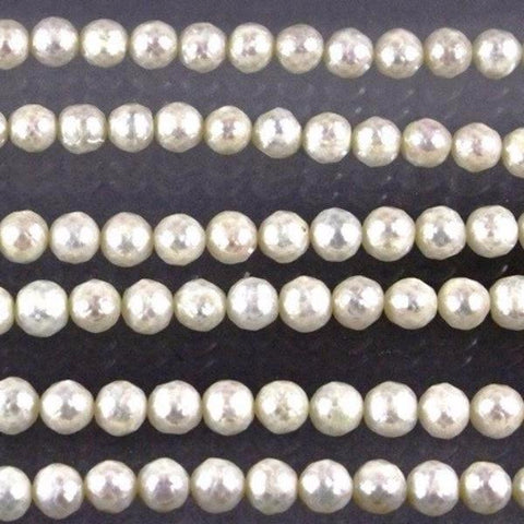 "Fresh Water Pearls, approx. 6mm x 8mm & 16-1/2"" strand. #w1 0185"
