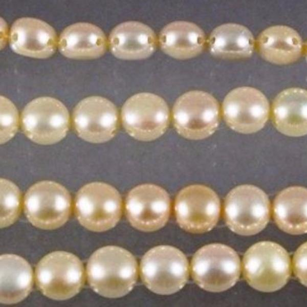 Fresh Water Pearls, 2 Hole Beads. - Azillion Beads