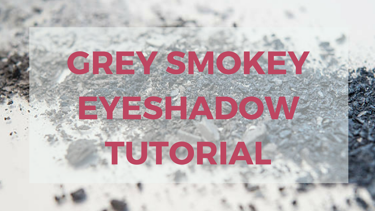 Grey Smokey Eye Makeup - Quick Guide