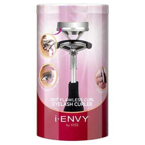 Cageless 360 Flawless Eyelash Curler I-Envy - KPC01 - By Kiss - Waba Hair and Beauty Supply