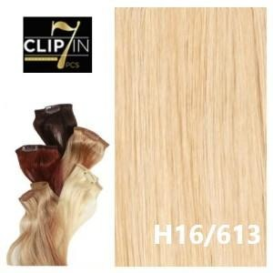 432fe0a4f49 7 Piece Clip-In Black Diamond 100% Remy Human Hair Extensions By Bohyme
