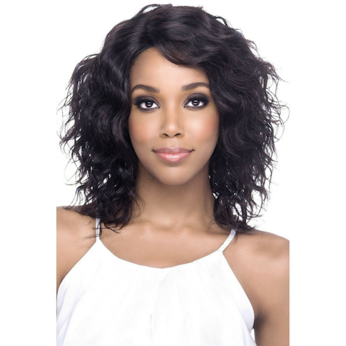 "Faydra 14"" Layered Loose Wave Lace Front Wig 100% Remi Human Hair By Vivica A. Fox - Waba Hair and Beauty Supply"