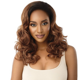Carly Quick Weave Synthetic Half Wig by Outre