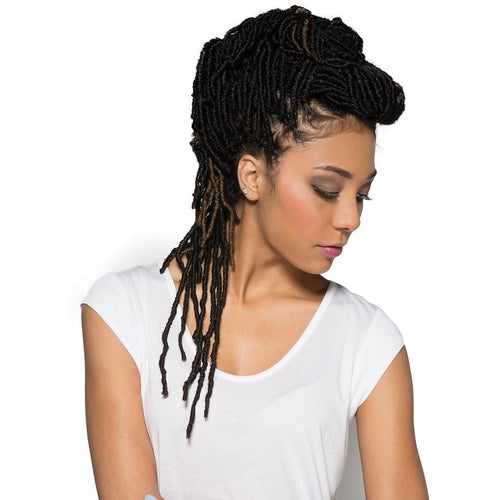 "Nu Locs 18"" Synthetic Crochet Braid Hair By Bobbi Boss (4 Packs) - Waba Hair and Beauty Supply"