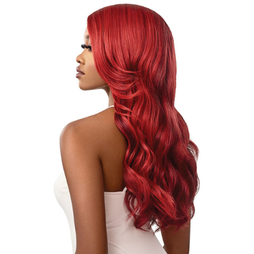Reina Color Bomb Ombre Lace Front Swiss Lace Heat Resistant Wig by Outre