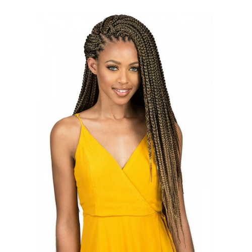 "Bomba Box Braid 18"" and 24"" African Roots Synthetic Braids By Bobbi Boss - Waba Hair and Beauty Supply"
