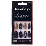 Goldfinger Luxury Press On Nails - GFL12 - by Kiss