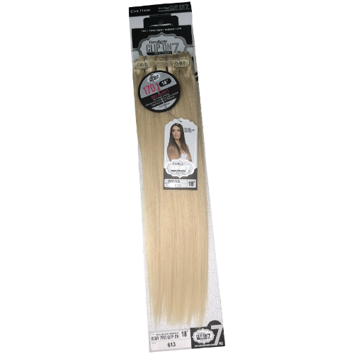 "18"" 7 Piece Clip-In 100% Remi Human Hair 170 grams by Eve Hair - Waba Hair and Beauty Supply"