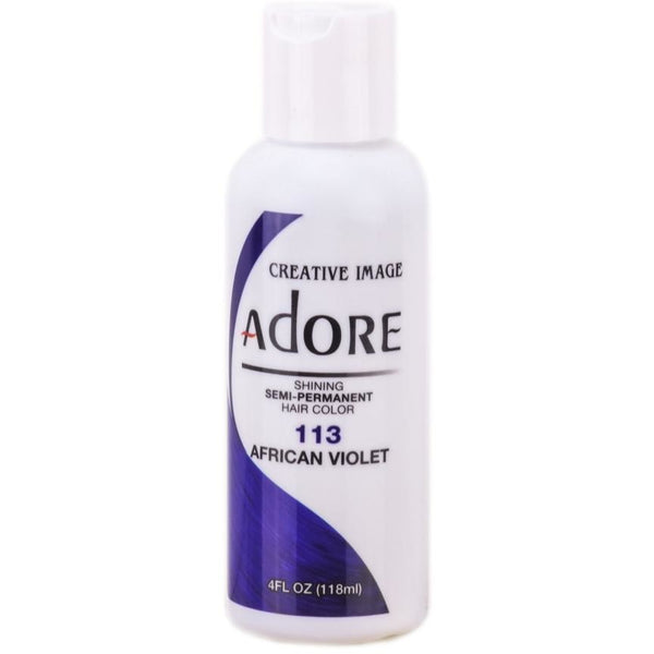 Adore Semi-Permanent Hair Color 4 Fl Oz By Creative Image (1 Pc) - Waba Hair and Beauty Supply