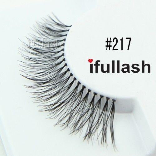 #217 Ifullash False Eyelashes Extensions Lashes (6 Pairs) - Waba Hair and Beauty Supply