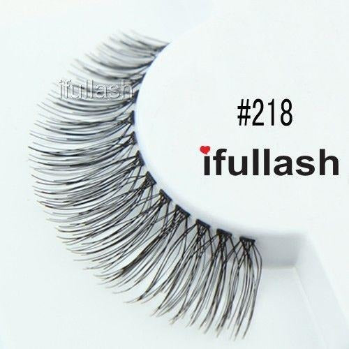 #218 Ifullash False Eyelashes Extensions Lashes (6 Pairs) - Waba Hair and Beauty Supply