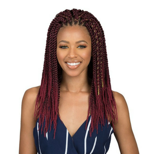 "Bomba Senegal Twist 18"" African Roots Synthetic Braids By Bobbi Boss - Waba Hair and Beauty Supply"