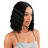 MLCR11 - Magic Lace Crimped Waves 11 Lace Front Wig by Chade Fashions