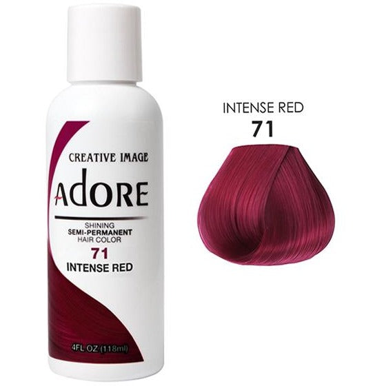 Adore Semi Permanent Hair Color 4 Oz By Creative Image (3 Pcs) - Waba Hair and Beauty Supply