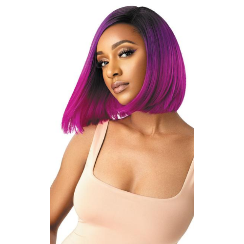 Kiely Color Bomb Swiss Lace Front Wig by Outre