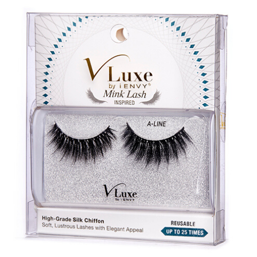 I Envy - VLES02 - A-Line V Luxe Silk Chiffon Lashes By Kiss