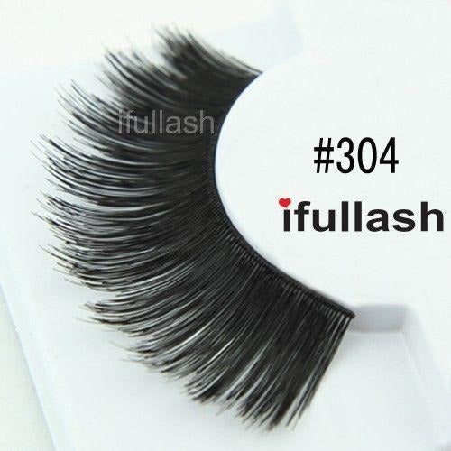 #304 Ifullash False Eyelashes Extensions Lashes (6 Pairs) - Waba Hair and Beauty Supply