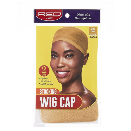 Stocking Wig Cap (5 Pack) - Red by Kiss