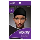 Ms Remi Stocking Wig Cap (2 Pack) by Annie