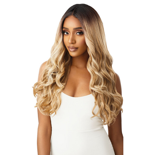 Cherilyn Synthetic I-Part Swiss Lace Front Wig by Outre