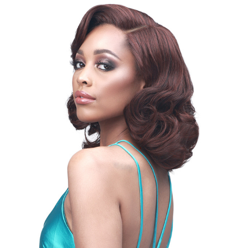 Wan - MLF542 - Truly Me Easy Everyday Wear Lace Front Wig by Bobbi Boss