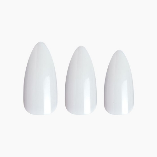 100 Stiletto Long Full Nail Cover Plain Nails - 100PS22 - by Kiss - Waba Hair and Beauty Supply