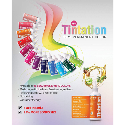 Tintation Semi-Permanent Hair Color by Kiss - Waba Hair and Beauty Supply