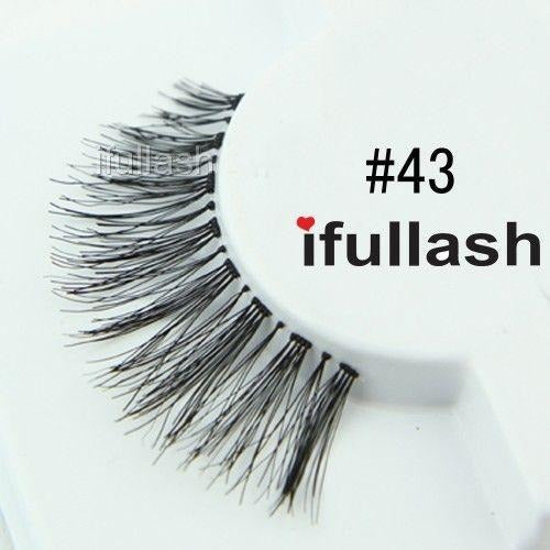#43 Ifullash False Eyelashes Extensions Lashes (6 Pairs) - Waba Hair and Beauty Supply