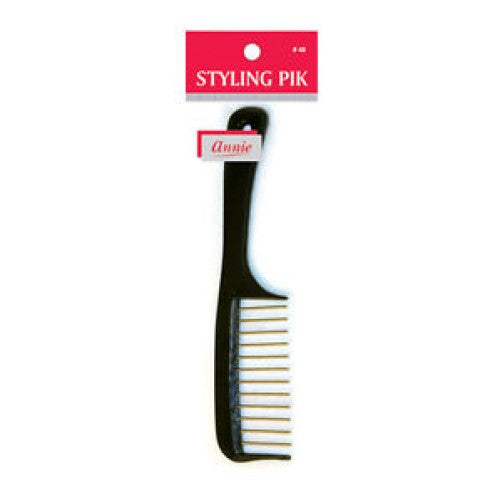 Styling Pik Brush Comb For All Types of Hair #48 by Annie Inc - Waba Hair and Beauty Supply