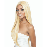 "Brown Sugar 293 - BS293 - 30"" Super Long Brown Sugar Human Hair StyleMix Lace Wig By Mane Concept"