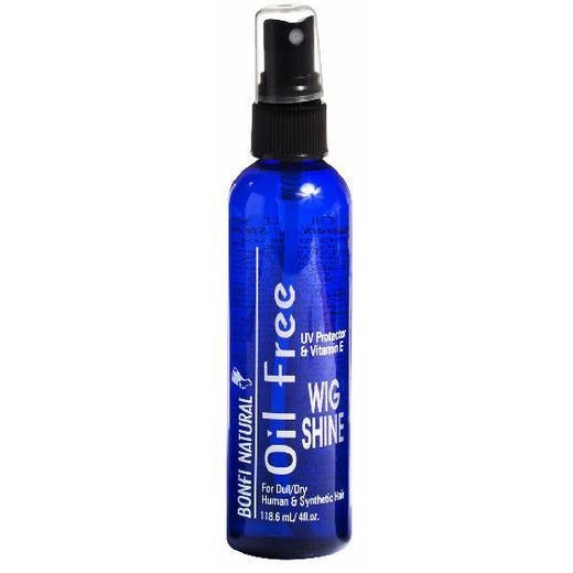Natural Oil Free 4 Oz Wig Shine Spray By Bonfi - Waba Hair and Beauty Supply