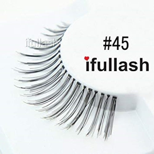 #45 Ifullash False Eyelashes Extensions Lashes (6 Pairs) - Waba Hair and Beauty Supply