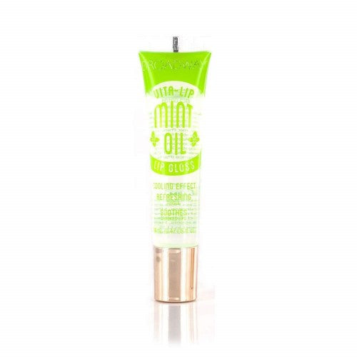 [ 3 PC ] SET of Mint, Rosehip and Coconut Oil Broadway Vita-Lip Clear Lip Gloss 0.47oz/14ml by Kiss - Waba Hair and Beauty Supply