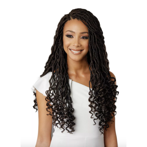 "18"" 3X Diva Locs African Roots Synthetic Crochet Braid Hair By Bobbi Boss"