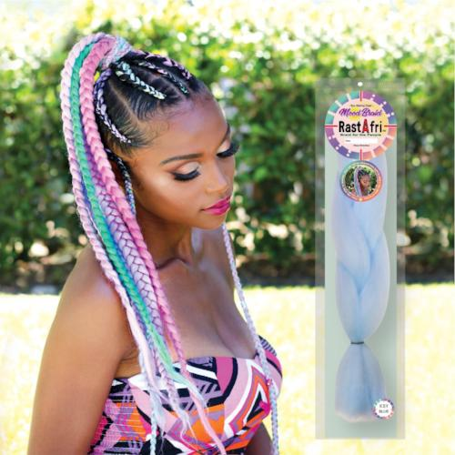 "48"" Color Changing Mood Braid by RastAfri - Waba Hair and Beauty Supply"