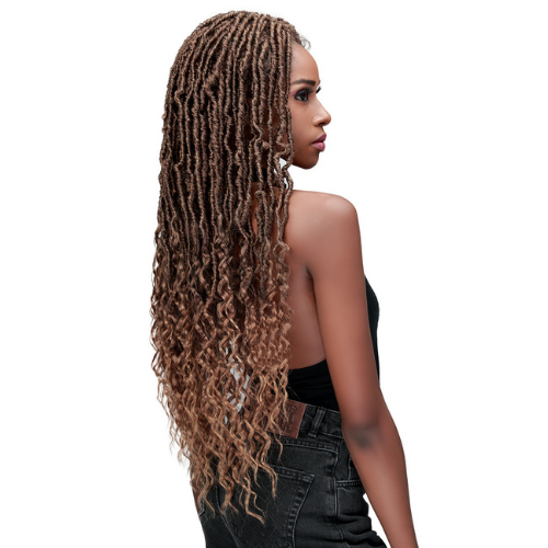 Nu Locs French Tips - MLF620 - MediFresh Advanced Protection Lace Front Wig By Bobbi Boss