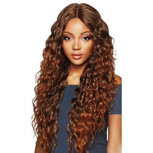 Amara Synthetic Swiss Lace Front Wig by Outre