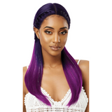 Mystique Synthetic Swiss Lace Front Wig by Outre