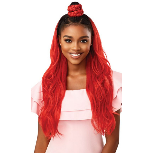 Sunshine & Me Coverti-Cap + Wrap Pony Synthetic Wig Set By Outre