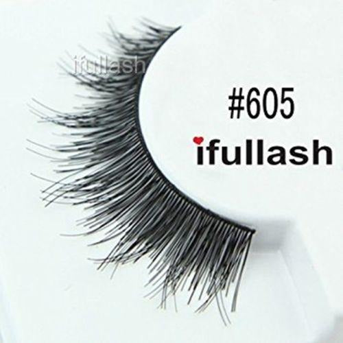 #605 Ifullash False Eyelashes Extensions Lashes (6 Pairs) - Waba Hair and Beauty Supply